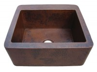 Item: FH514 Farmhouse Copper Kitchen Sink 25