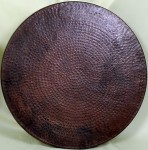 Round table Wall Mount Copper Range Hood Item: TCS5500