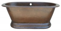 Soaker Copper Tub Item: TCS7430